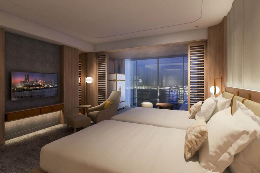 橫濱8號碼頭洲際酒店 雙床房