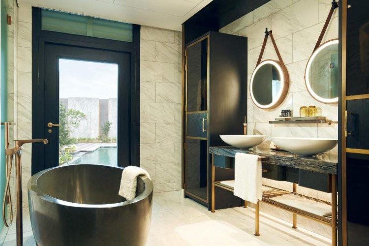 百瑞營聖淘沙酒店 頂級房浴室