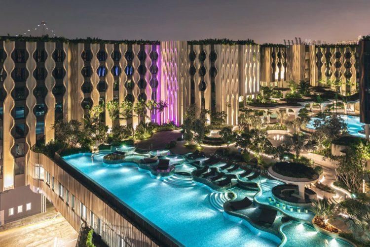 邀堡聖淘沙酒店 泳池