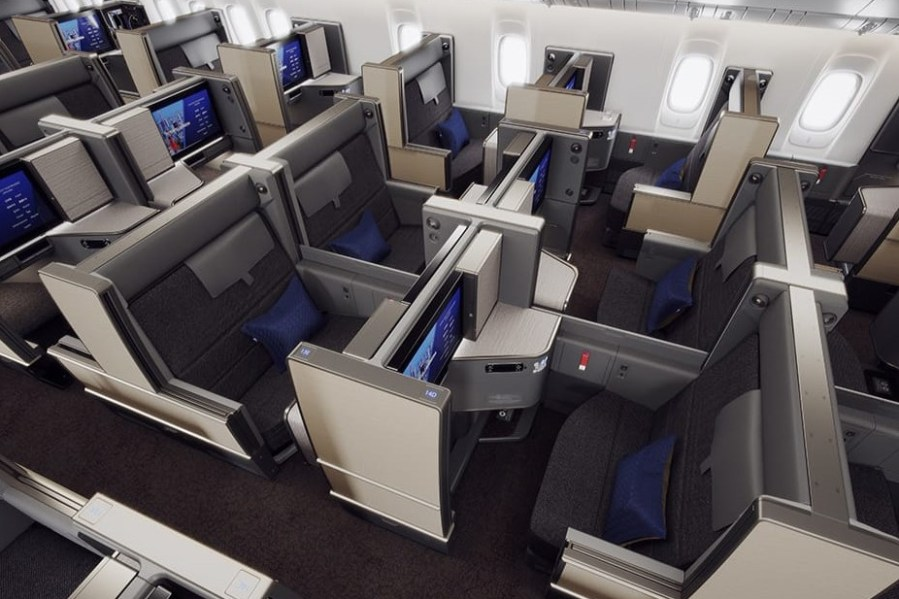 ANA New Business Class - THE Room