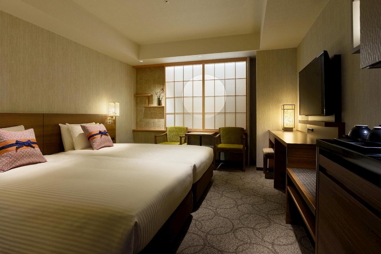 三井花園酒店京都站前 雙床房