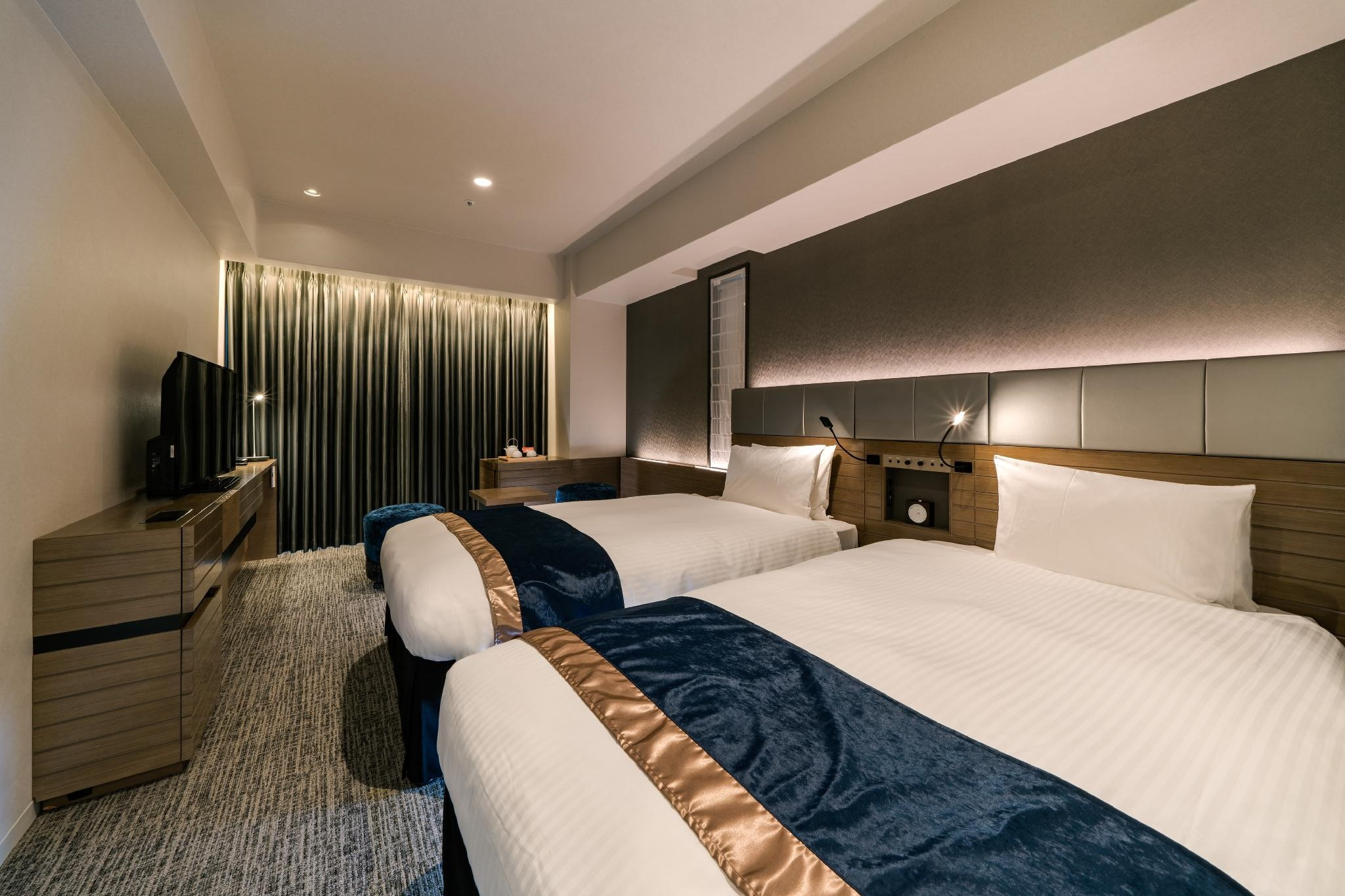 京都八條東口露台大和 ROYNET 酒店 雙床房