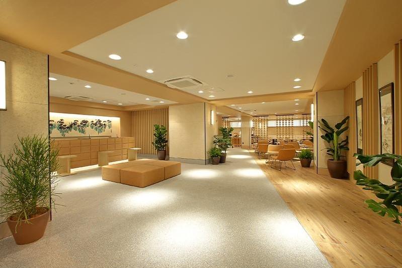 京都東方酒店 藝廊 大堂