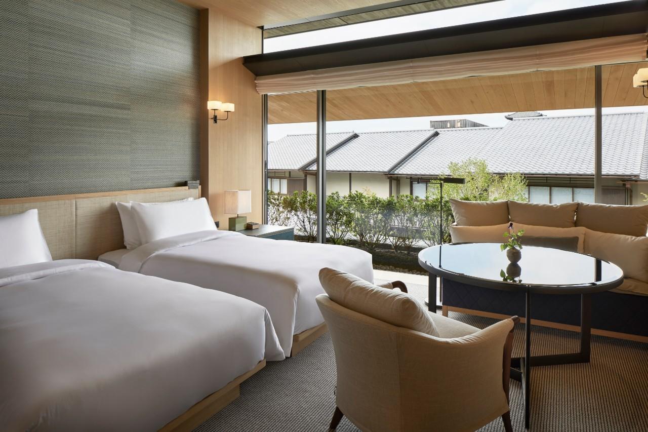 京都柏悅酒店 雙床房