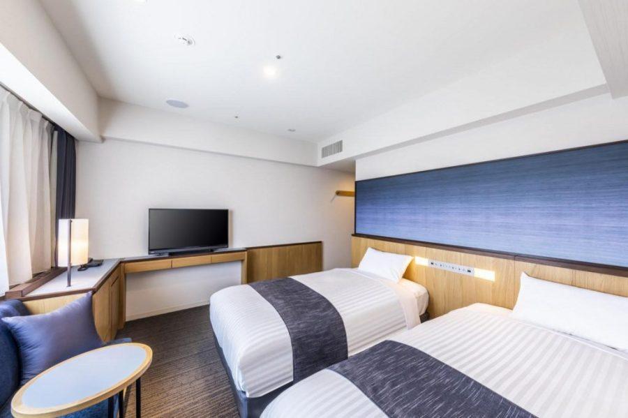 格拉斯麗大阪難波酒店 雙床房