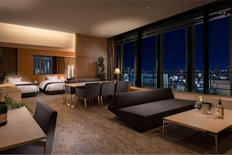 皇家經典大阪酒店 套房