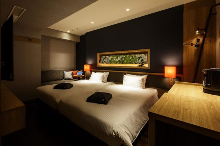 Hotel Forza 大阪北濱 雙床房