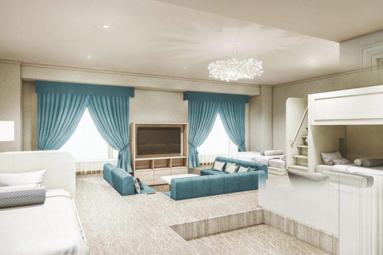 LIBER HOTEL AT UNIVERSAL STUDIOS JAPAN 家庭房
