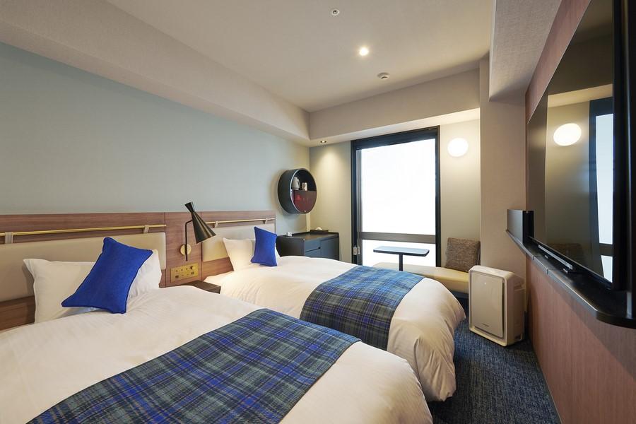 大阪新梅田大和皇家酒店 D-Premium 雙床房