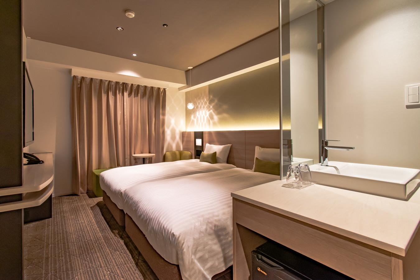大阪本町威斯特高貴酒店 雙床房
