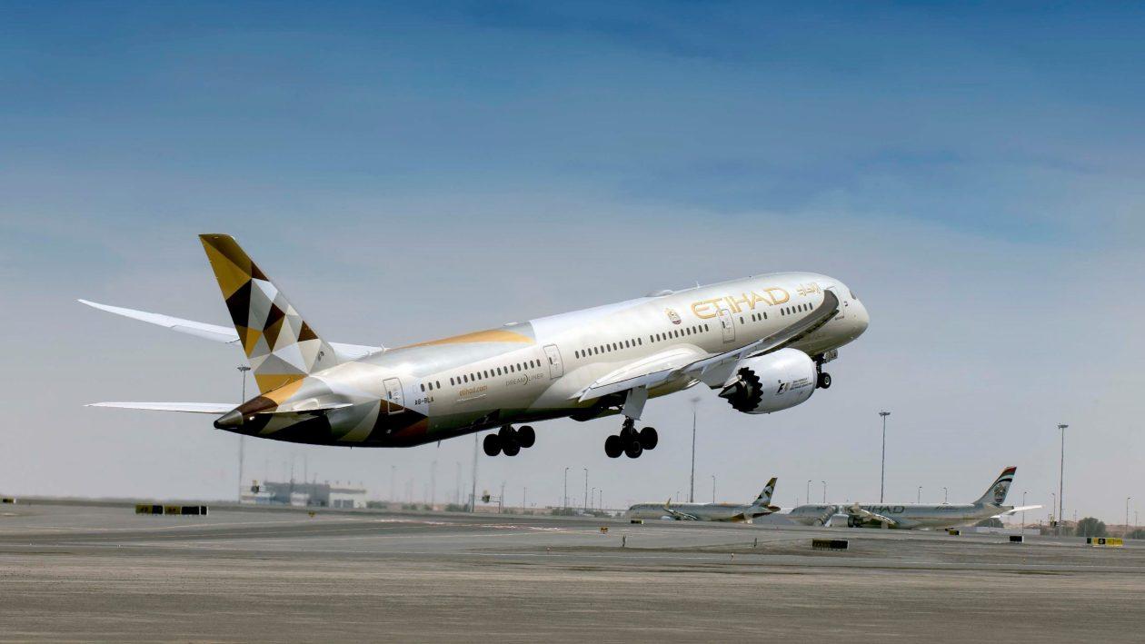 Etihad Boeing 787-9 (Photo by Etihad Airways)