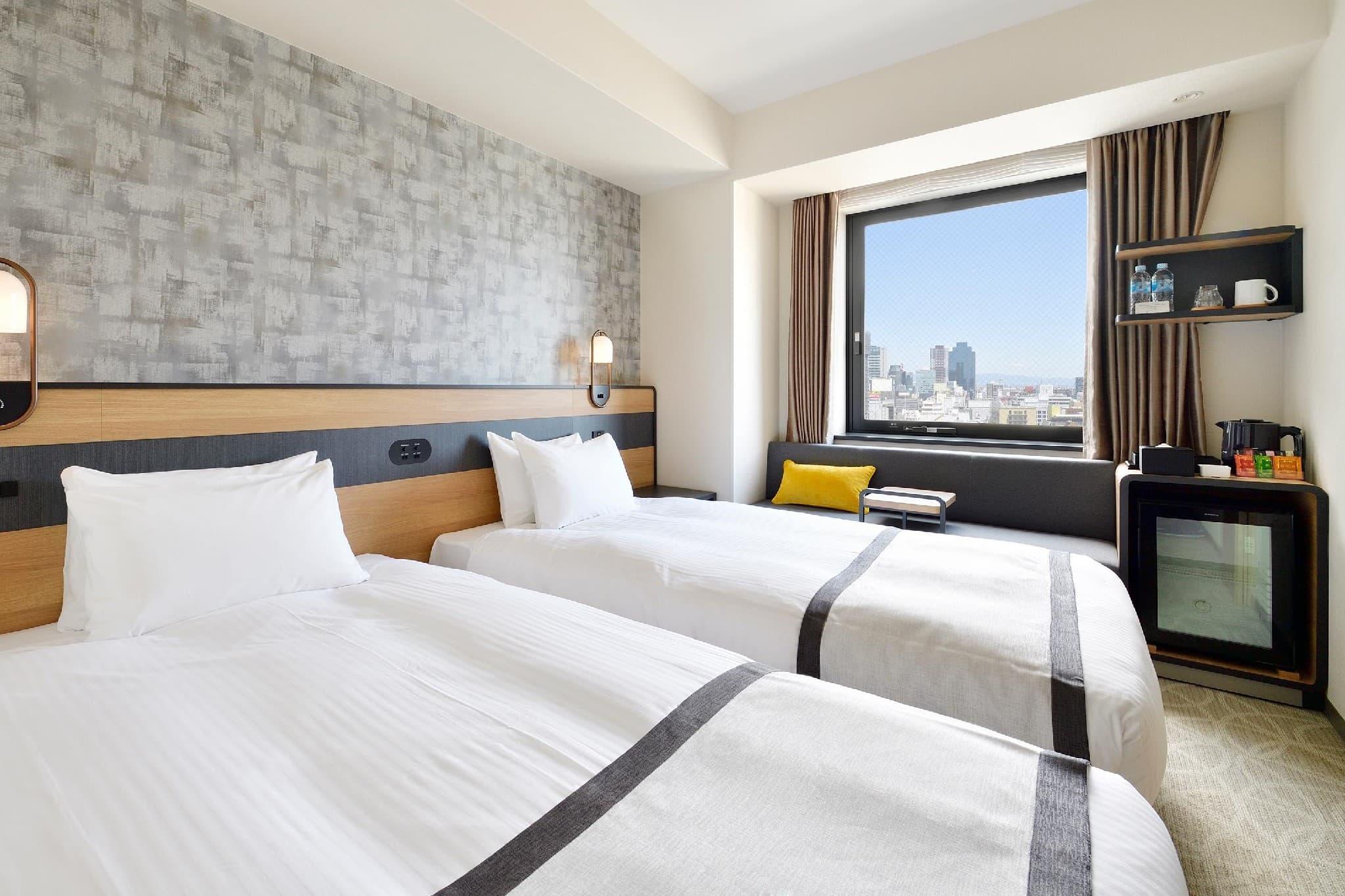 HOTEL ELCIENT OSAKA 雙床房