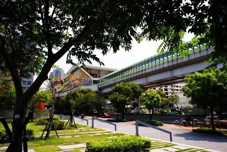 台中捷運綠線 - 市政府站(圖片來源:台中市政府交通局)