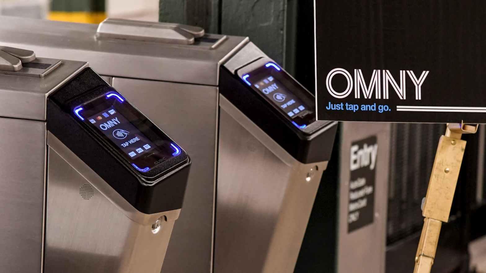 紐約大都會運輸署(MTA):非接觸式支付系統 OMNY