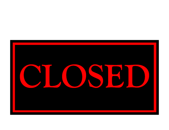 photograph regarding Free Printable Holiday Closed Signs named Shut Signal Template. click on towards enlarge facts measurement 12 kb
