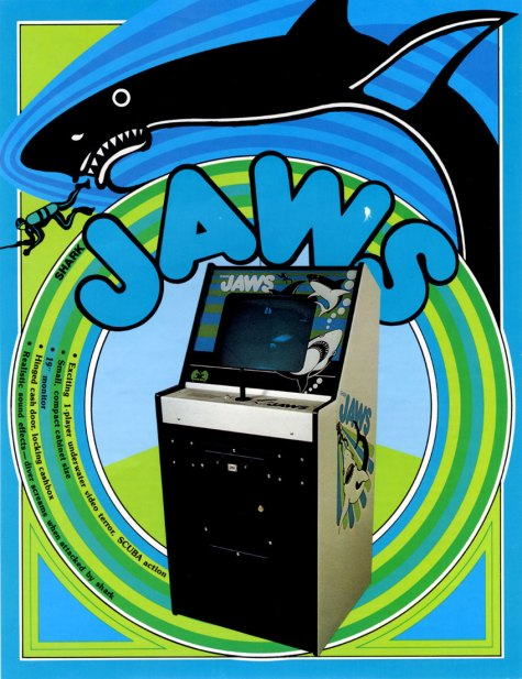Shark JAWS Atari Flyer