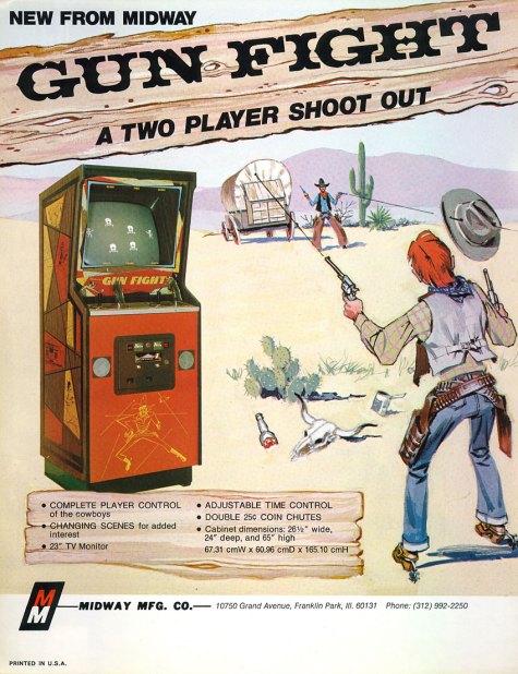Gun Fight - First CPU powered game