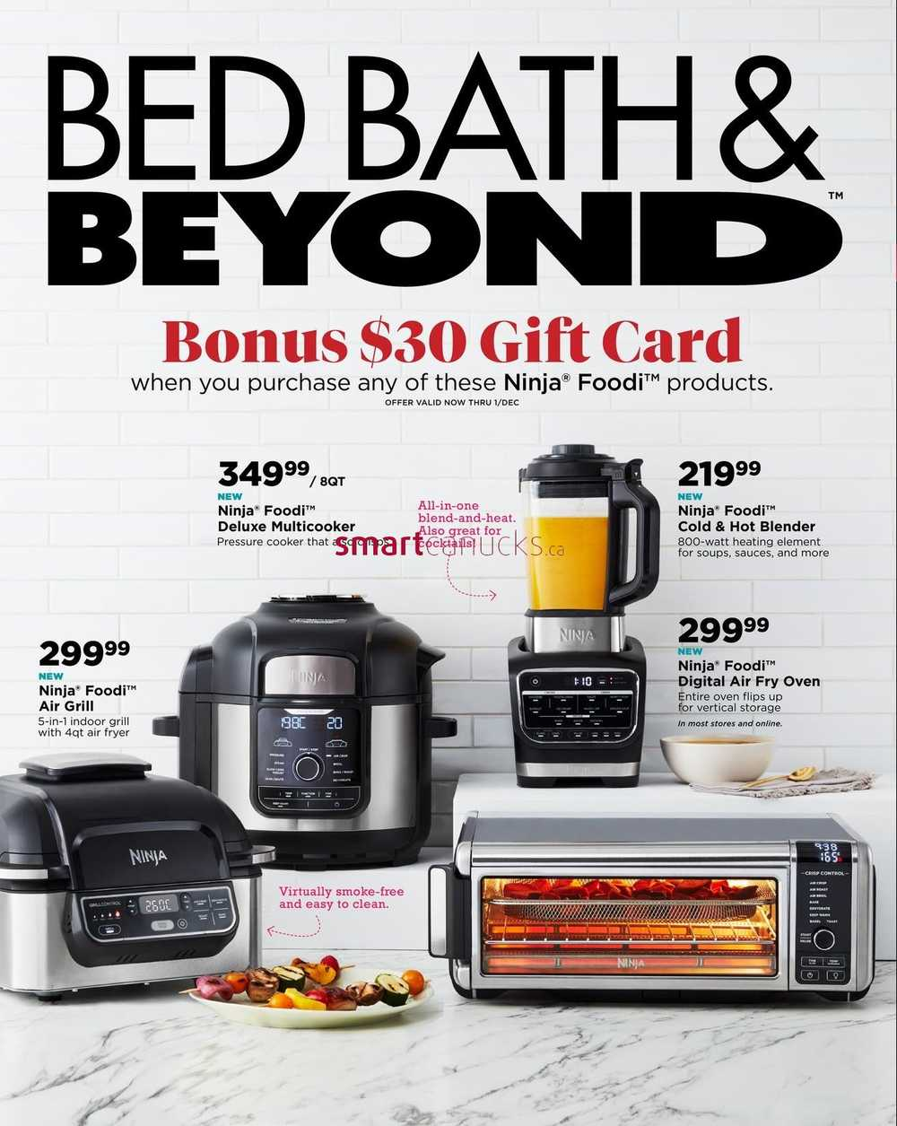 bed bath beyond flyer november 17 to