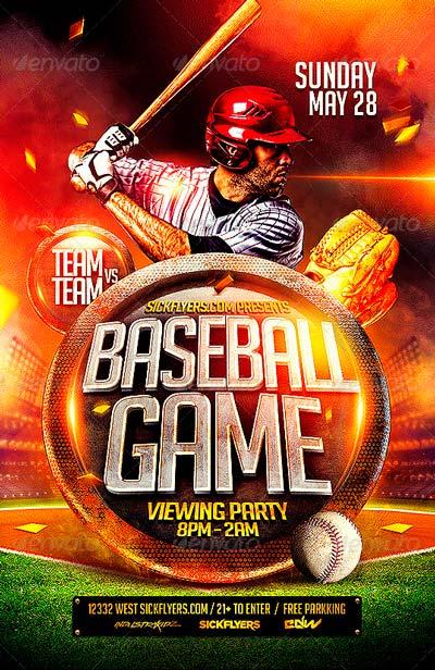 baseball camp flyer templates by kinzi on deviantart baseball – Sports Flyer