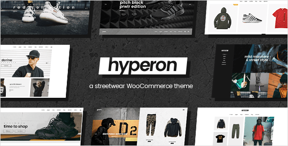 Hyperon – Clothing WooCommerce Theme – WP Theme Download