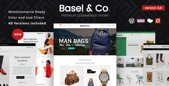 Basel – Responsive eCommerce Theme – WP Theme Download