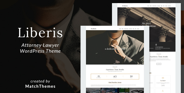 Liberis – Licensed expert Licensed expert WordPress Theme – WP Theme Download