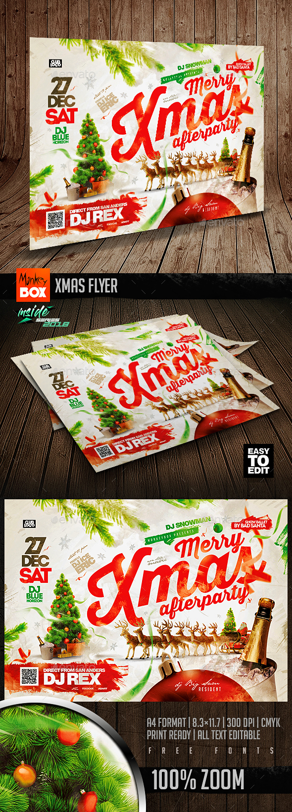 Flyers PSD – Xmas Flyer – Download