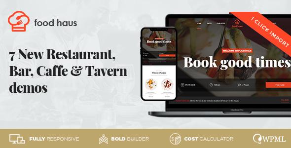 Meals Haus – Restaurant & Bistro – WP Theme Download