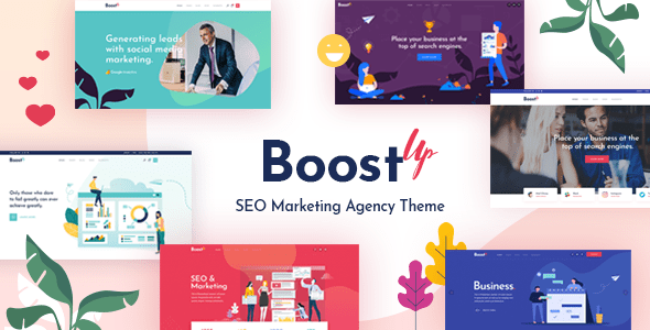 BoostUp – web sites positioning Advertising and marketing and marketing Company Theme – WP Theme Download