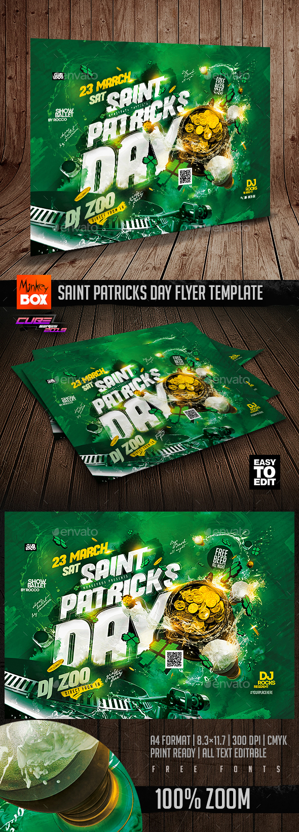 Flyers PSD – Saint Patricks Day Flyer Template – Download