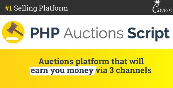 PHP Auctions Script – PHP Script Download