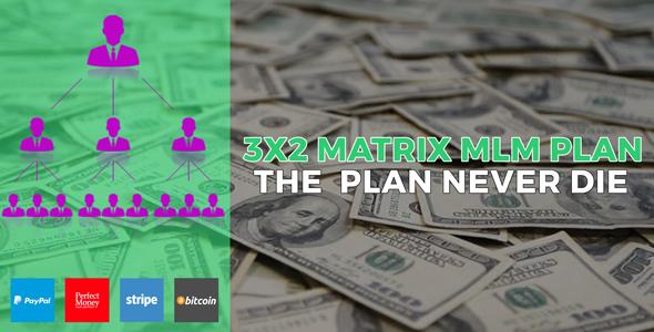 MATRIX – 3X2 Matrix MLM Industry Platform – PHP Script Download