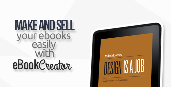 eBook Creator – Online eBook creation system – PHP Script Download
