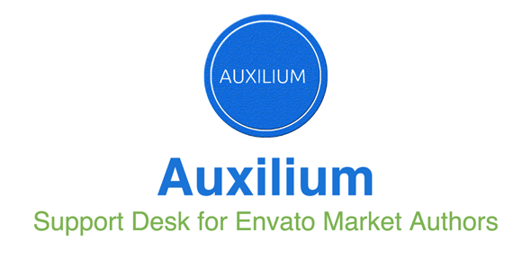 Auxilium : Increase Desk for Freelancers and Envato Market Authors – PHP Script Download