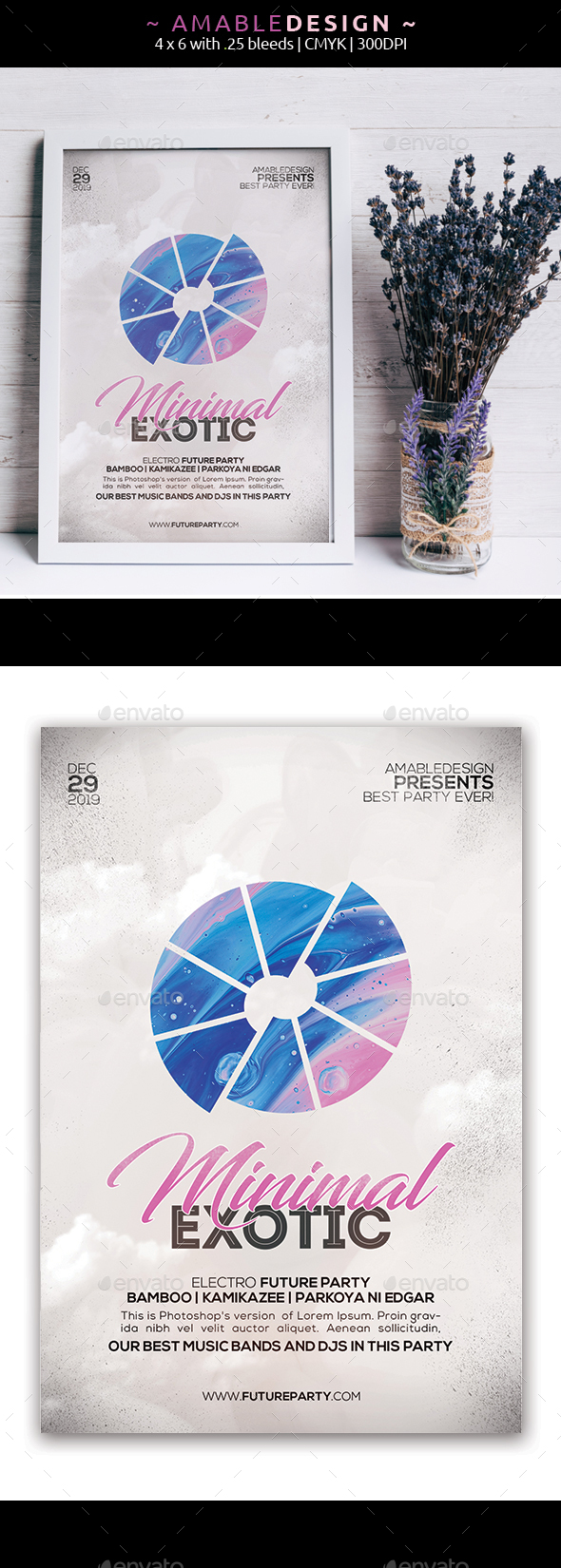 Flyers PSD – Minimal Flyer – Download