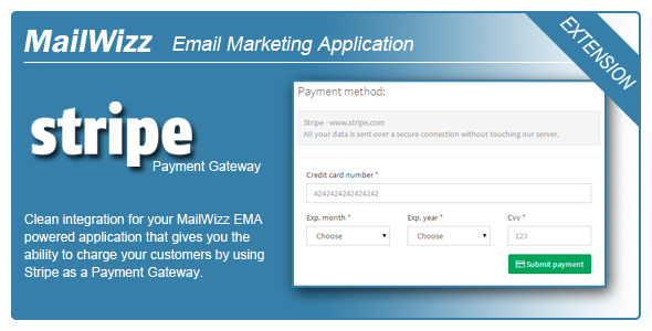 MailWizz EMA integration with Stripe – PHP Script Download