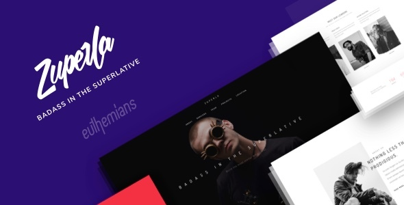 Zuperla – Creative Multi-Motive WordPress Theme – WP Theme Download