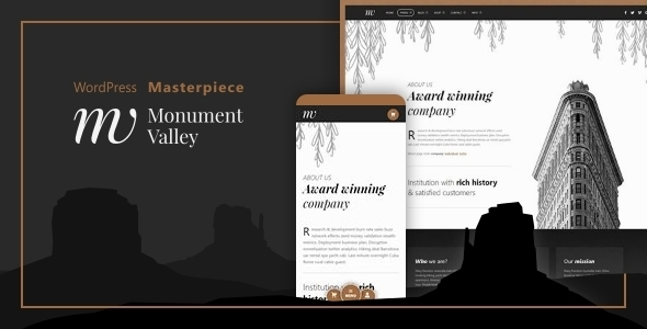 Monument Valley – Accessible WooCommerce & Enterprise Masterpiece – WP Theme Download