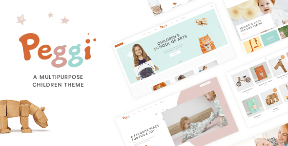 Peggi – Multipurpose Early life Theme – WP Theme Download