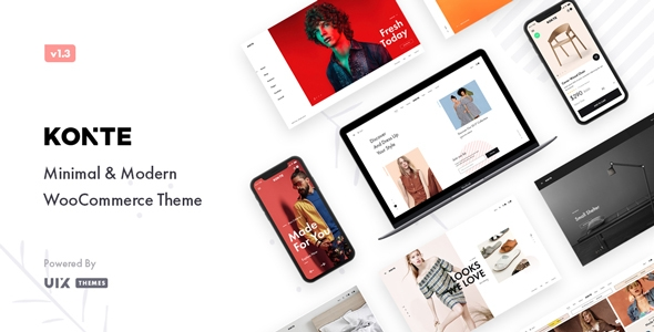 Konte – Minimal & Novel WooCommerce WordPress Theme – WP Theme Download