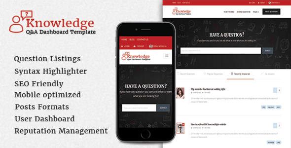 InfoCenter – Knowledge Noxious and Q/A WordPress Theme – WP Theme Download