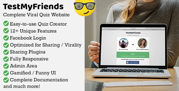TestMyFriends – Total Viral Buddy Quiz Websites – PHP Script Download