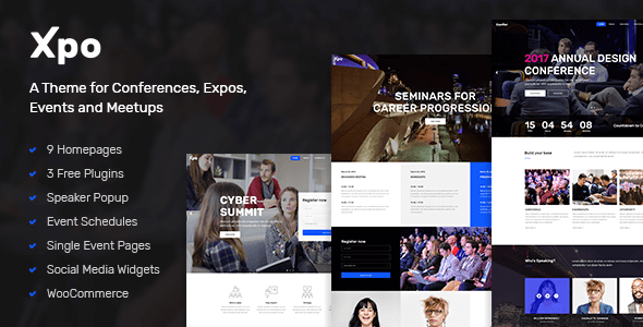 Xpo – Convention & Occasion Theme – WP Theme Download