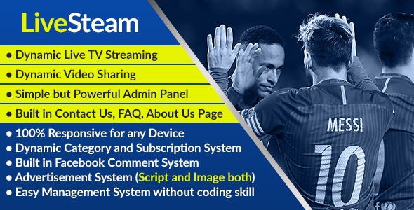 LiveStream – On-line Video and Reside Streaming Management Gadget – PHP Script Download