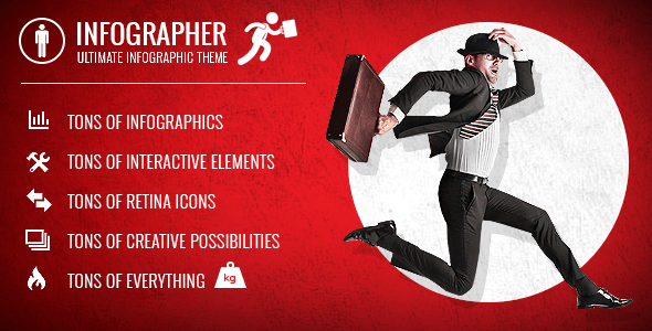 Infographer – Multi-Cause Infographic Theme – WP Theme Download