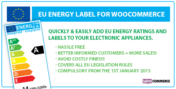 EU Energy Ticket for WooCommerce – PHP Script Download