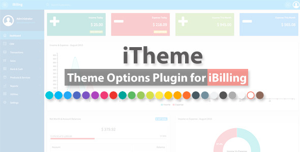 iTheme – Theme Alternatives Plugin for iBilling – PHP Script Download