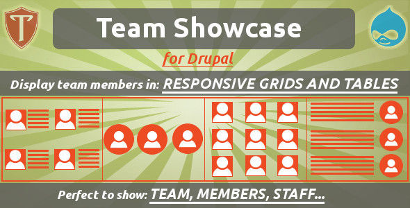 Team Showcase for Drupal – PHP Script Download