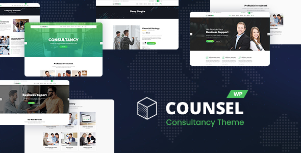 Counsell – Consultancy WordPress Theme – WP Theme Download