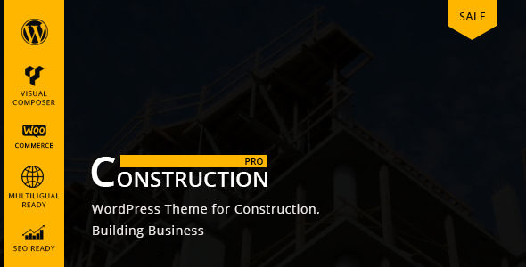 Constructionpro – Constructing &  Renovation Company WordPress Theme – WP Theme Download